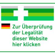 Legalität der Webseite